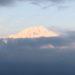 金環日蝕明けの富士